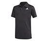 adidas Boys Club Polo (Black)