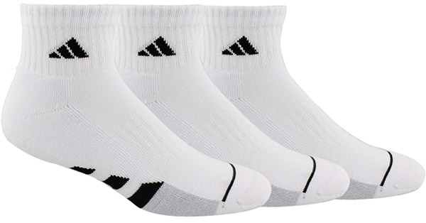adidas Men's Cushioned Quarter 3 Pack (M)