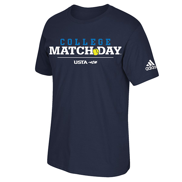 COLLEGE MATCH DAY T SHIRT-BLUE