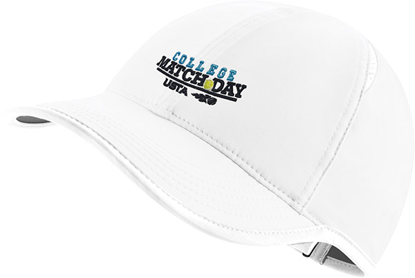 COLLEGE MATCH DAY HAT-White