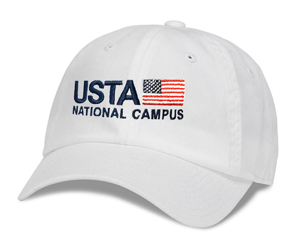 USTA Washed Slouch Cap (M)