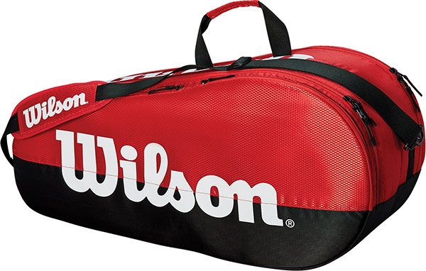 Wilson Team 2 Comp 6-Pack (Red/Black)