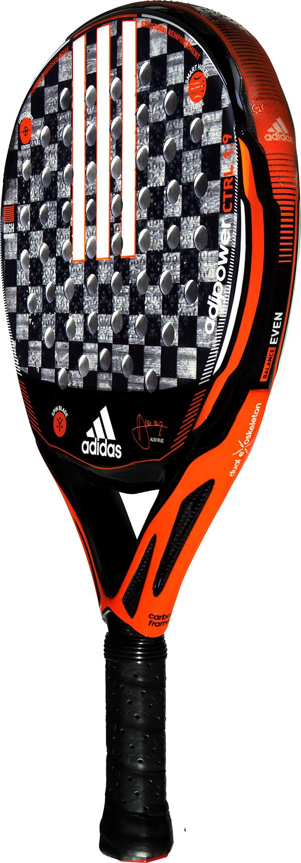 1 Padel Adidas Control 9 Adipower 4A5jLR