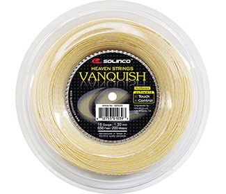 Solinco Vanquish (Natural) Reel-656'