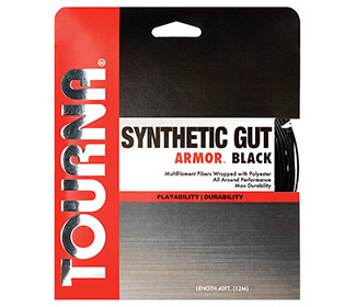 Tourna Synthetic Gut Armor Black