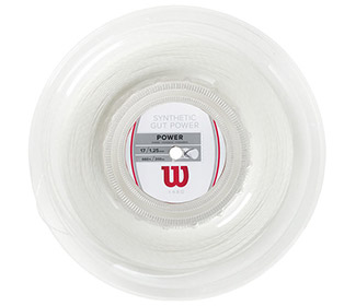 Wilson Synthetic Gut Power 17g Reel (WHT)