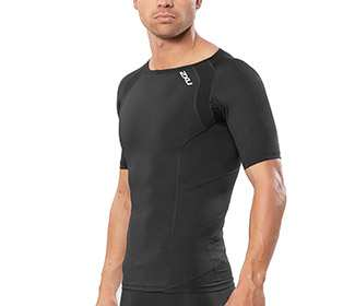 2XU Men's Compression Short Sleeve Top
