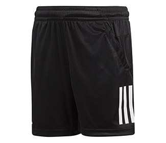 adidas Boys 3-Stripes Club Short (Black)