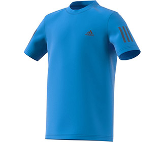 adidas Boys Club 3 Stripe Tee