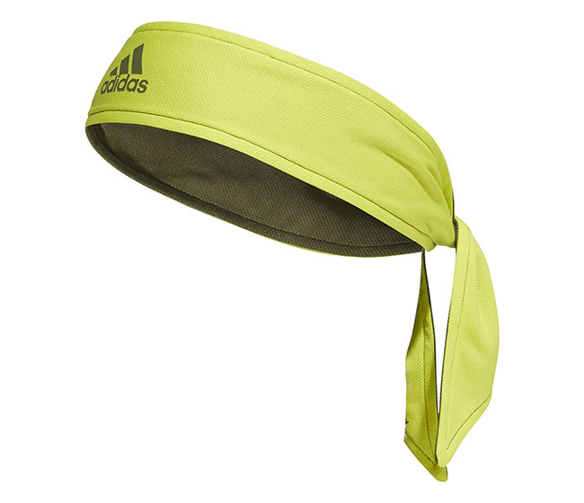 adidas Tennis Reversible Tie Band (Yellow)