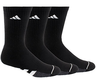 adidas Men's Cushioned Crew 3 Pack (M)
