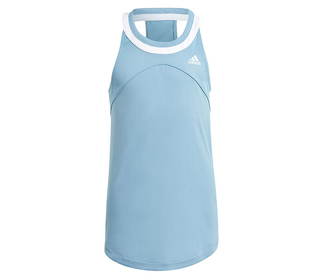 adidas Girls Club Tank (Blue)