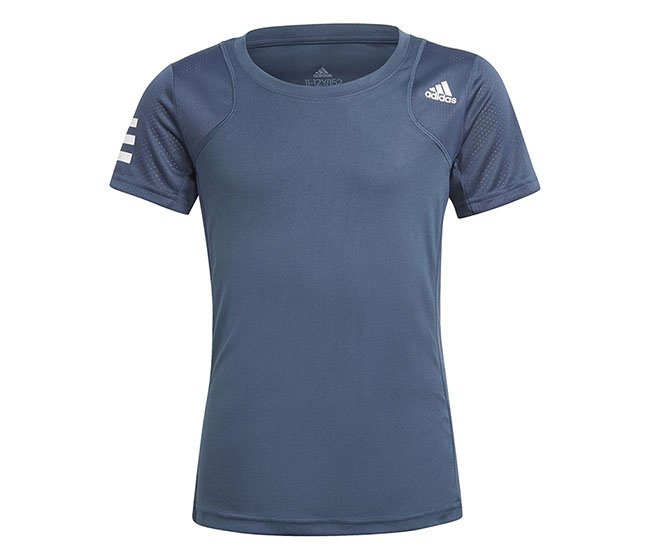 adidas Girls Club Tee (Navy)