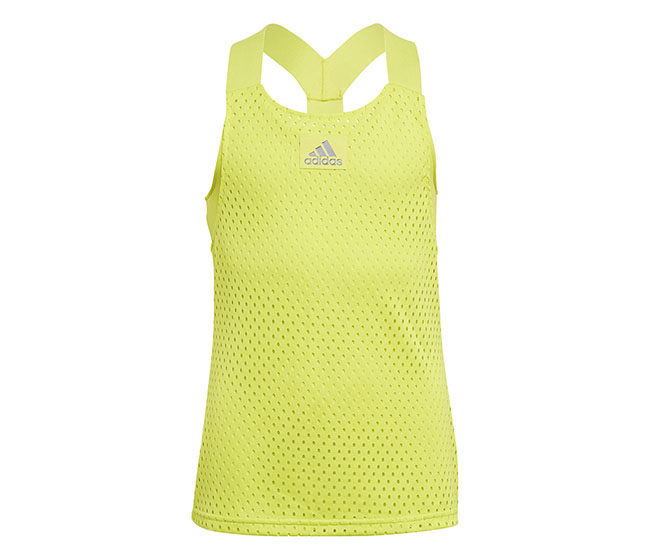 adidas Girls Y-Tank Primeblue (Yellow)