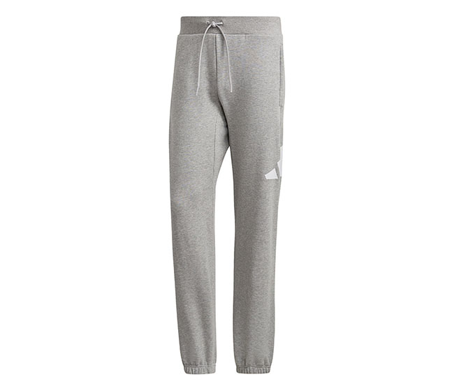 adidas 3 Bar Icon French Terry Pant (M) (Grey)