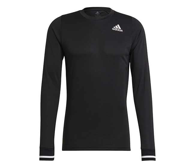 adidas Freelift Long Sleeve Tee (M) (Black)