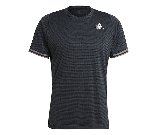 adidas Freelift Tee (M) (Dark Grey)