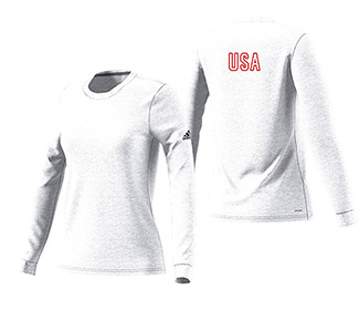 Adi USA Go To Performance L/S Tee (W)