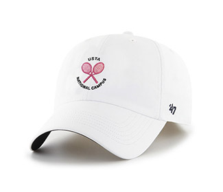 USTA Crossed Racquet Cap (W)