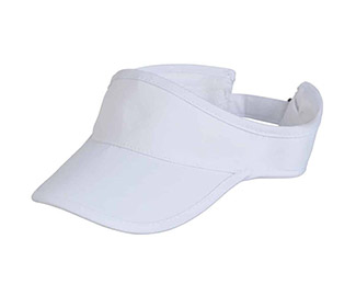 L/F Performance Lightweight Visor (M) White
