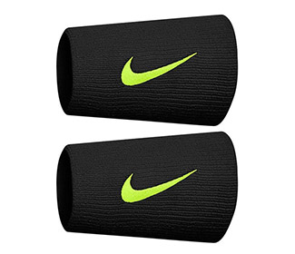 Nike Tennis Premier Graphic Double Wristbands (2x)