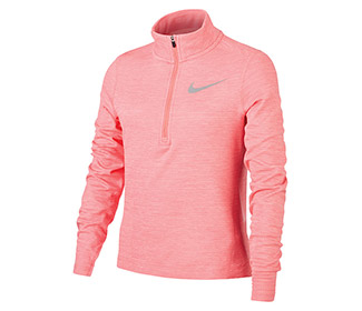 Nike Running 1/2 Zip L/S Top (G)