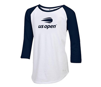 US Open Under Armour Girls Baseball T (G)