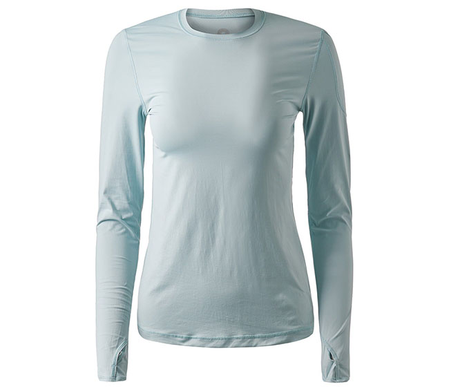 BloqUV 24/7 Long Sleeve Top (W) (Gray)