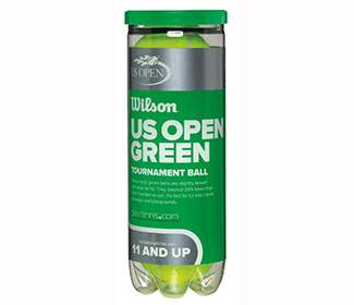 Wilson US Open Tournament Green Ball(3 Ball C