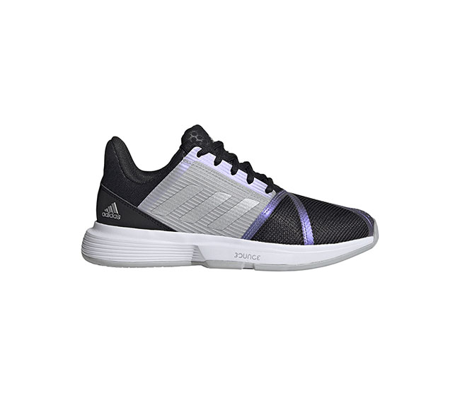 adidas Court Jam Bounce (W) (Black/Purple/Silver)