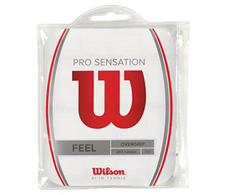 Wilson Sensation Pro Overgrip (12x)(White)