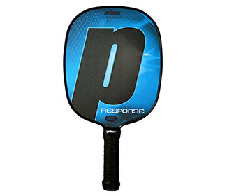 Prince Response Thin Grip Pickleball Paddle (Blue)