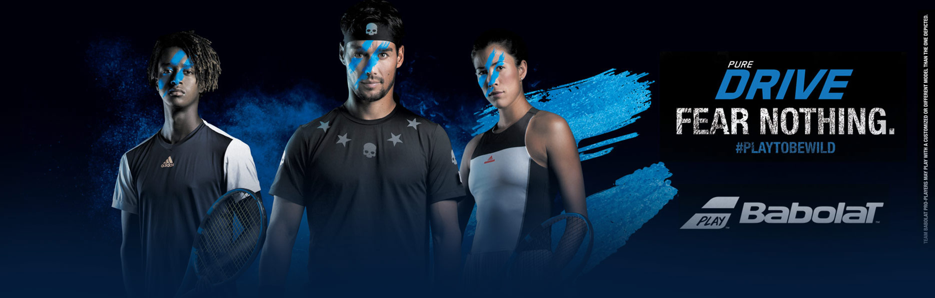 Babolat Tennis Racqute Pure Drive: Fear Nothing