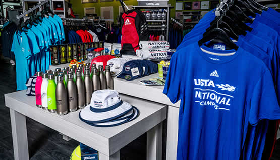 National Campus Tennis Apparel and Gear
